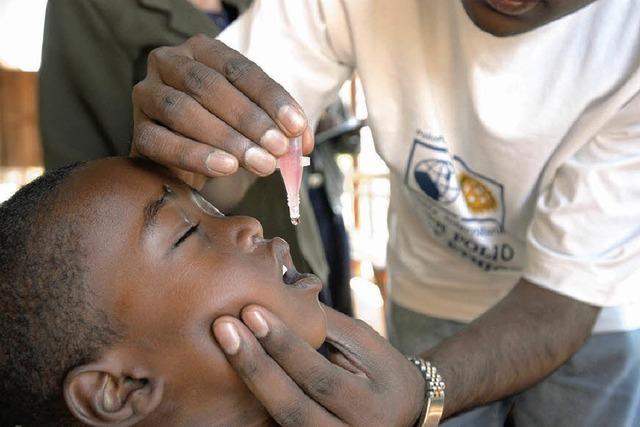 Rotarier kämpfen gegen Kinderlähmung