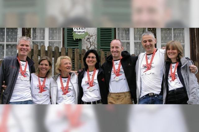 Der Marathon lockt – manchmal sogar in die Alpen