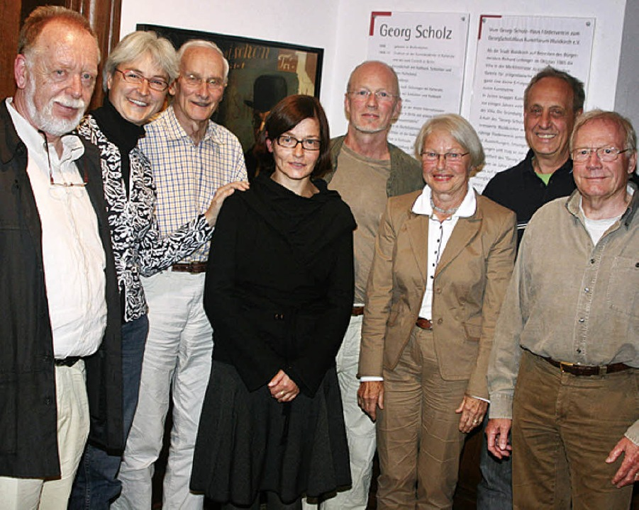 Sie führen die Geschicke des Georg Sch...isitzer Dr. Ortulf Reuter (von links).  | Foto: Gerda Oswald