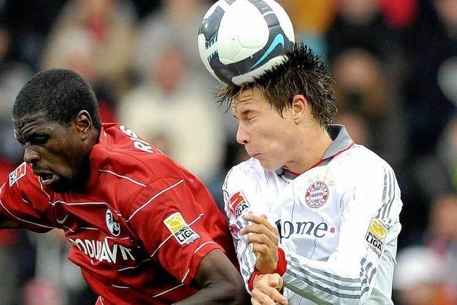 Dutt über Mo Idrissou und Töppi