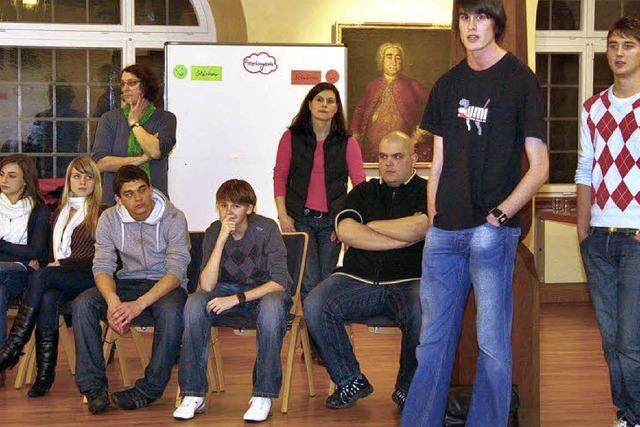 Jugendliche wollen sich einbringen