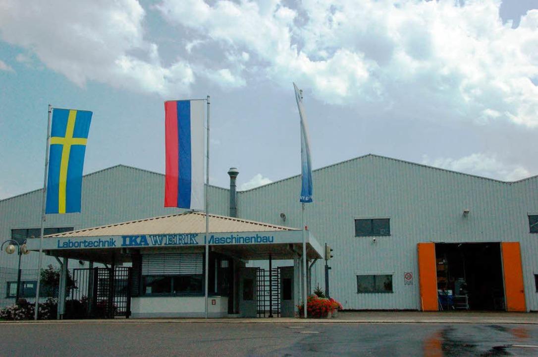 Die IKA-Werke in Staufen wurden von der  Wirtschaftskrise hart getroffen.    Foto: Markus Donner