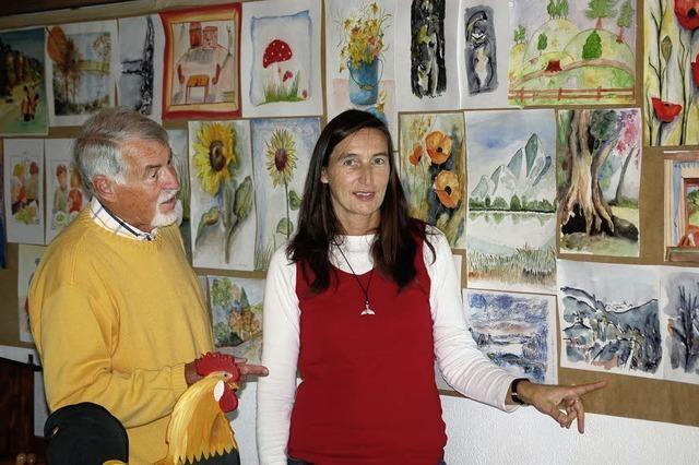 Hobbymaler aus drei Generationen