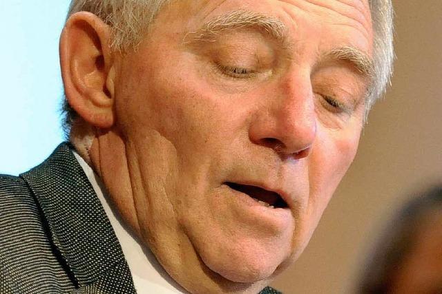 Der neue Finanzminister: Die Allzweckwaffe Schäuble