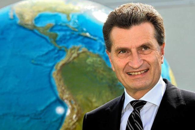 Oettinger wird EU-Kommissar – wird Mappus Landesvater?