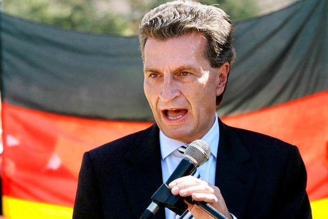 Schwäbischer Schnellsprecher wird EU-Kommissar