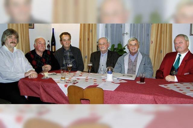 Der Männergesangverein Tegernau wird aufgelöst