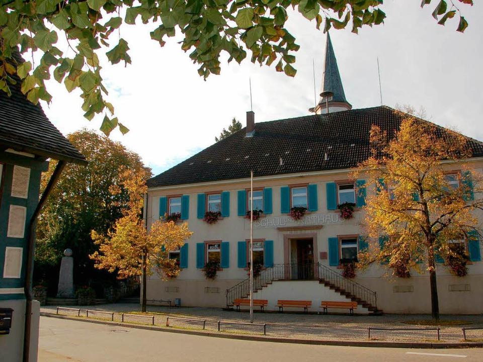 Das Rathaus in Vörstetten hat einen neuen Chef: Lars Brügner    Foto: Frank Kiefer