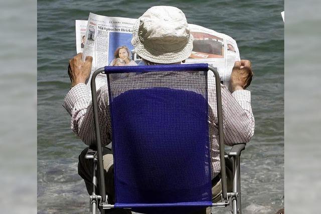 Immer mehr Rentner müssen jobben