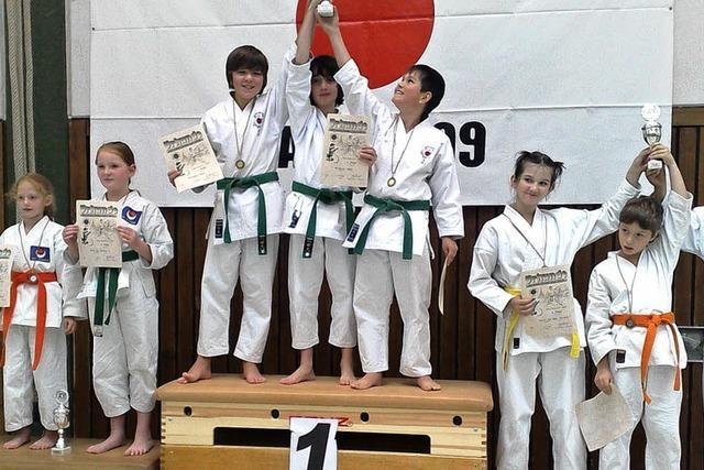 Kappler Karateka bei Turnier erfolgreich