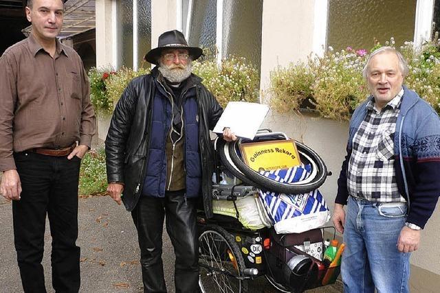 Ein Schwede kreuzt in Dundenheim auf