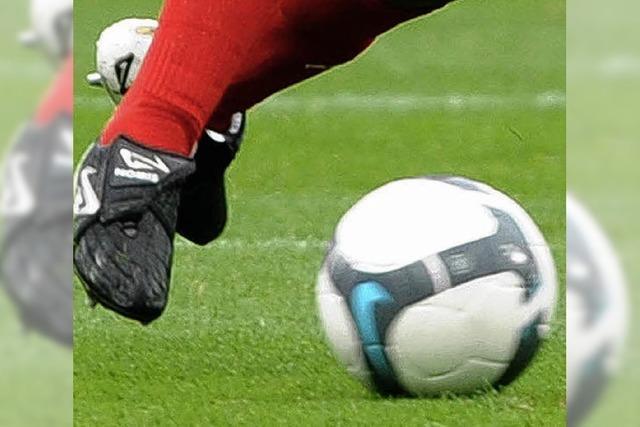 Fußball spielen als Repräsentant der Gemeinde