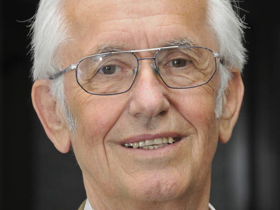 Fritz Kaiser, Vorsitzender der Freiburger Tafel.  | Foto: Ingo Schneider