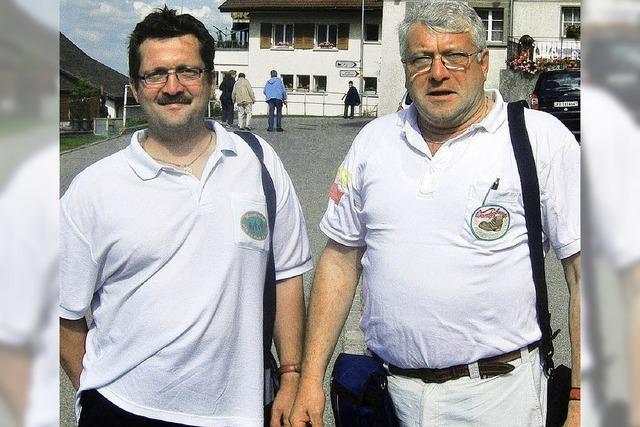 Zwei Präsidenten zu Gast