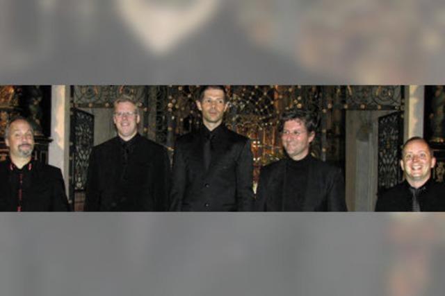 Trotz individueller Stimmfarben ein harmonisches Ensemble