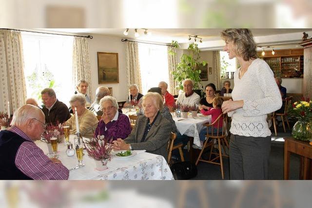 Dem Senioren-Mittagstisch lacht auch weiterhin die
