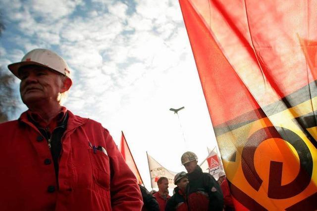 Gewerkschafter sind in der Krise uneins
