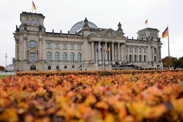 Premiere des neuen Bundestags gleicht einer Einschulung