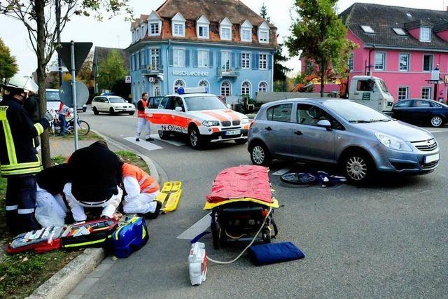 Unfall am Hirschplatz – Kind schwer verletzt
