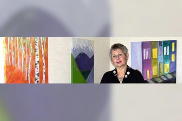 Gemälde bestechen mit ihren Farben