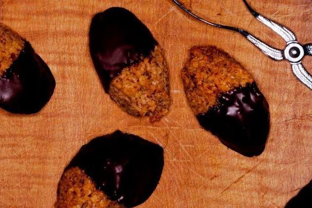Lübecker Kokosmakronen sind eine knusprige Verlockung mit Marzipan