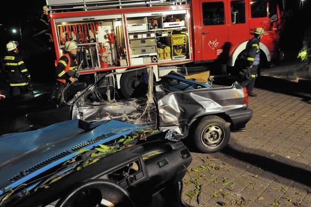 Gasexplosion und Unfall – perfekte Verletztenrettung