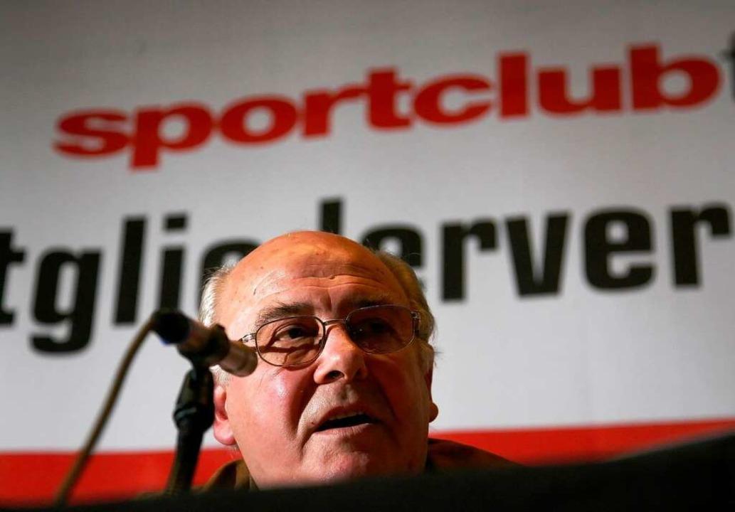 Der Sportclub war sein Leben – s...lässt eine tiefe Lücke: Achim Stocker.  | Foto: Patrick Seeger