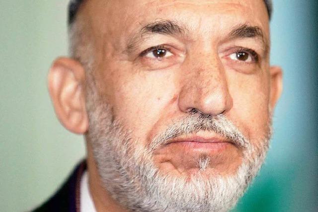 Afghanistan: Karsai ist einziger Kandidat