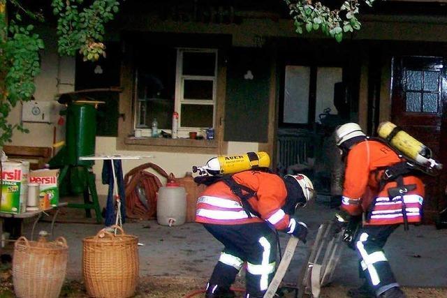 Brand in Schnapsbrennerei in Haltingen
