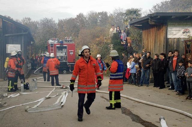 Gute Noten für Feuerwehr und DRK
