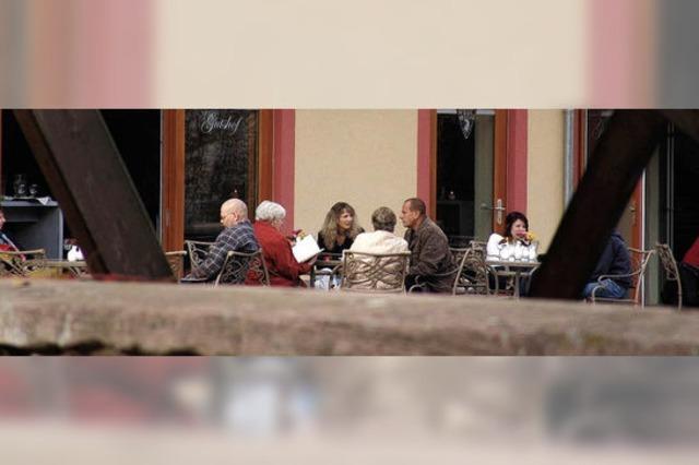 Mittagstisch und Café statt Kuhmist