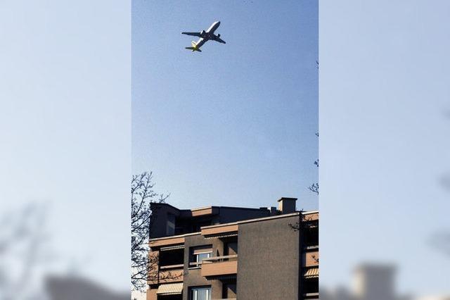 Dezibel messen statt Flugzeuge zählen