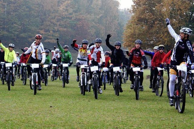 Nationalcoach trainiert den Mountainbike-Nachwuchs