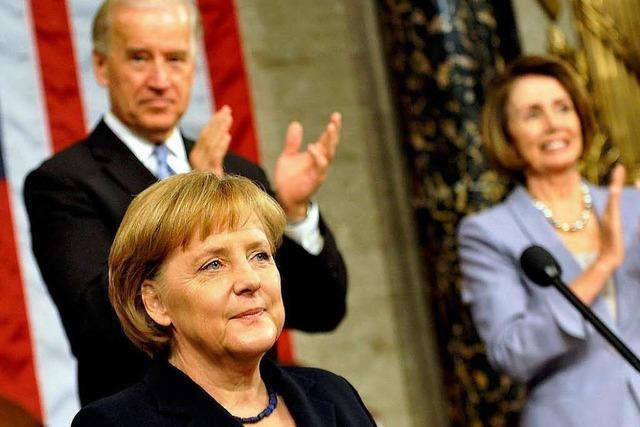 Angela Merkels wichtige Rede in den USA