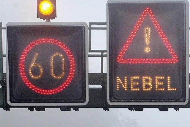 Offenburger Polizei warnt vor Nebel-Gefahr
