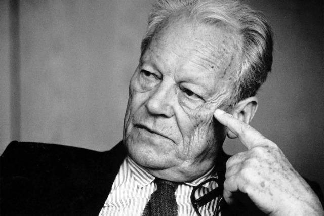 Bertha von Suttner soll Willy Brandt ersetzen