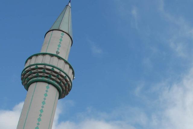 In Basler Parkhäusern hängen umstrittene Anti-Minarett-Plakate