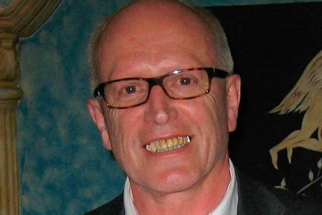 Helmut Spitznagel erhält den Sportehrenbrief der Stadt Lahr