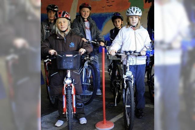 Sicherer Umgang mit dem Fahrrad