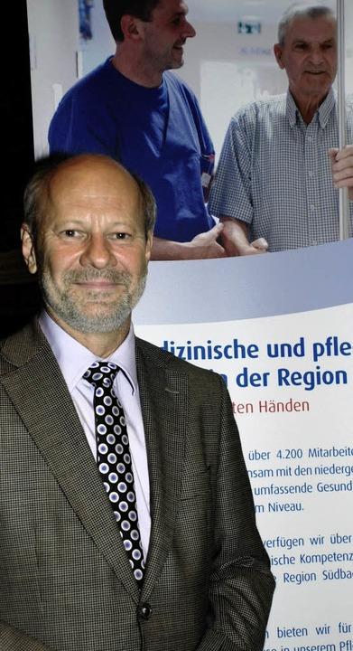 Bruno Schweigert, Chefarzt der Orthopädie am Klinikum Offenburg-Gengenbach.     Foto: Siefke