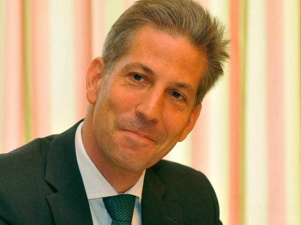 Klaus Schüle will Fraktionschef werde.    Foto: Michael Bamberger