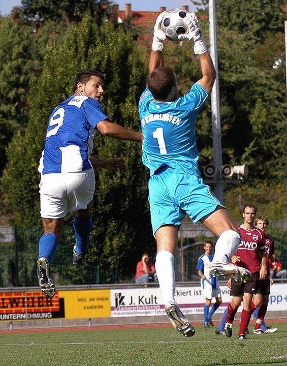 Der SV Weil befindet sich im Höhenflug...m Heimspiel gegen den SV Stadelhofen.   | Foto: Peter Gerigk