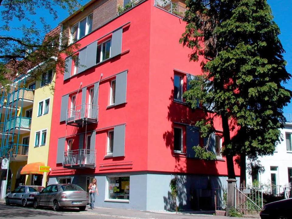 In der Freiburger Lorettostraße wurde ...6 Kubikmeter Erdgas nur noch bei 2,6.   | Foto: griessbach-architekten, manu, asc