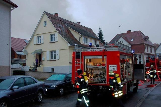 Mann stirbt bei Brand in Emmendingen