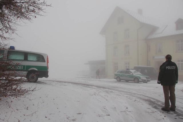 Mord im Schnee – Mann auf dem Hochblauen erstochen