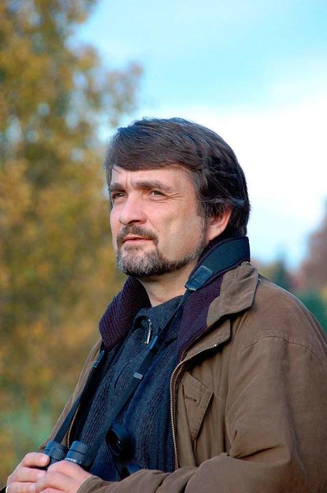 Naturschützer Kai Frobel, Gründer des Grünes Bands  | Foto: Sebastian Kretz
