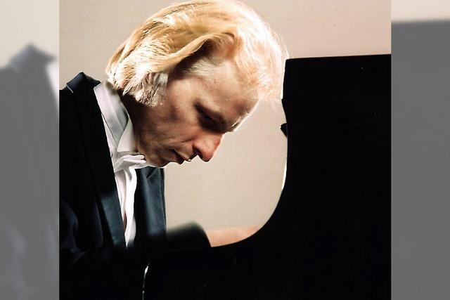 Ein großer Meister am Klavier