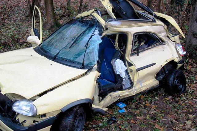 28-Jährige stirbt bei Verkehrsunfall bei Offenburg