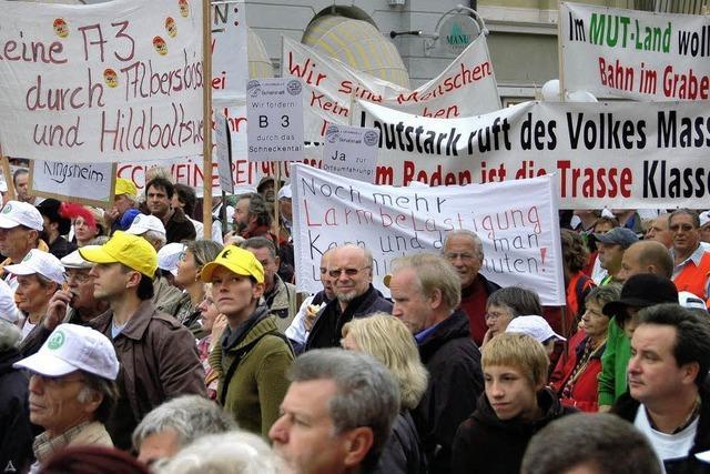 Bahnprotest geht weiter