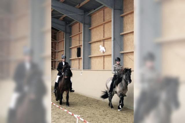 Der Spaß auf dem Pferd ist wichtig